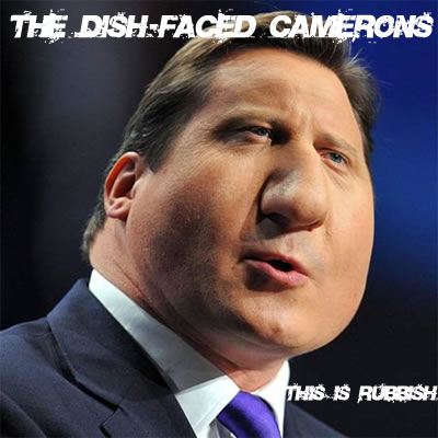 Dished face
